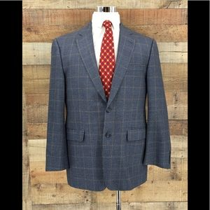 Burberry Men's Kensington Silk/Wool Sport Coat